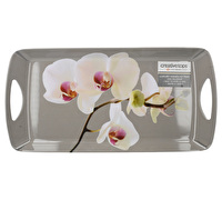 Creative Tops Orchid Harmony Small Luxury Handled Tray