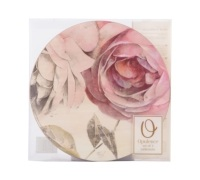 Creative Tops Antique Rose Pack Of 4 Round Premium Placemats