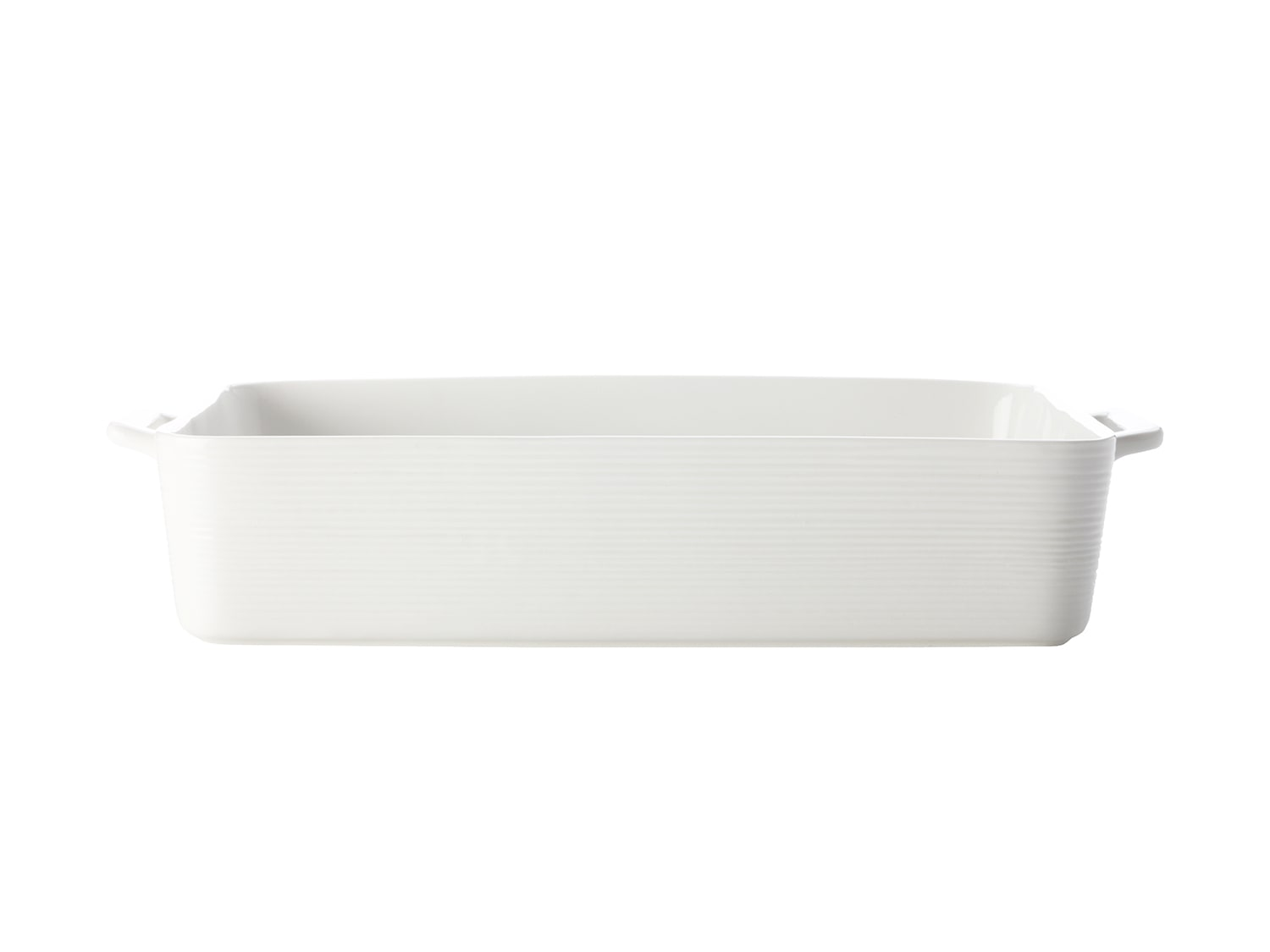 Casa Domani Casual White Evolve Rectangle Baker