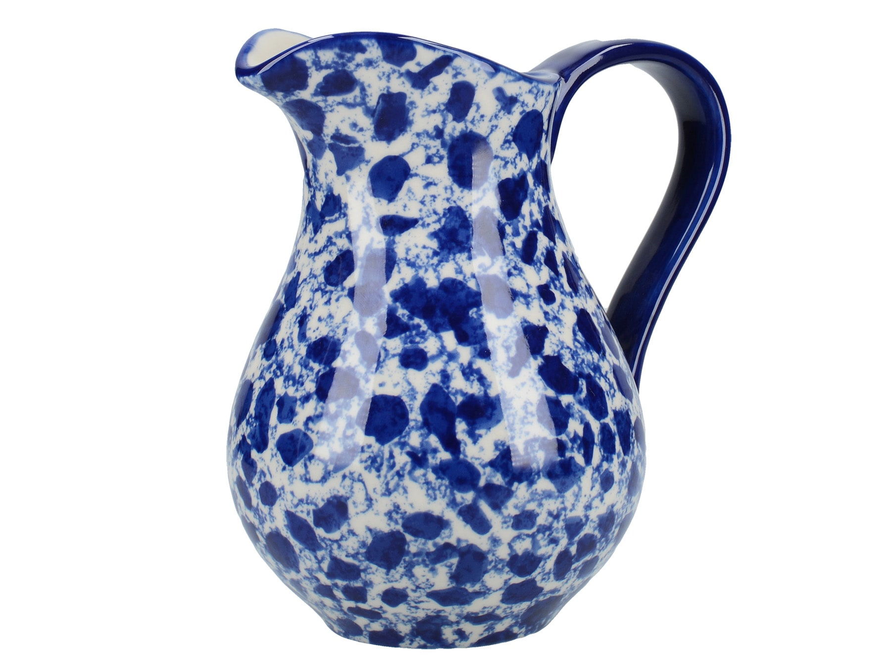 London Pottery Splash Medium Jug Blue