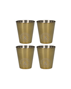 Photo of Creative Tops Earlstree & Co Set Of 4 Stainless Steel Shot Glasses