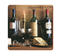Creative Tops Vintage Wine Pack Of 6 Premium Coasters