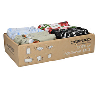 Creative Tops Set Of 12 Foldaway Bags In Cdu - 4 Designs