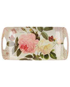 Photo of Creative Tops Rose Garden Small Luxury Handled Tray