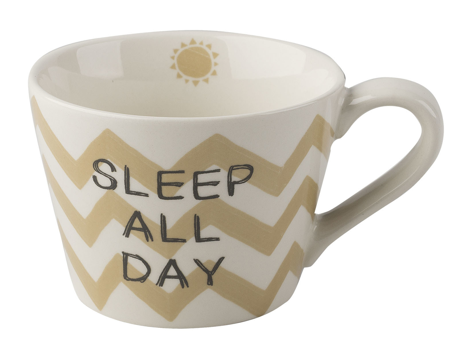 Creative Tops Sleep And Dance Conical Mug