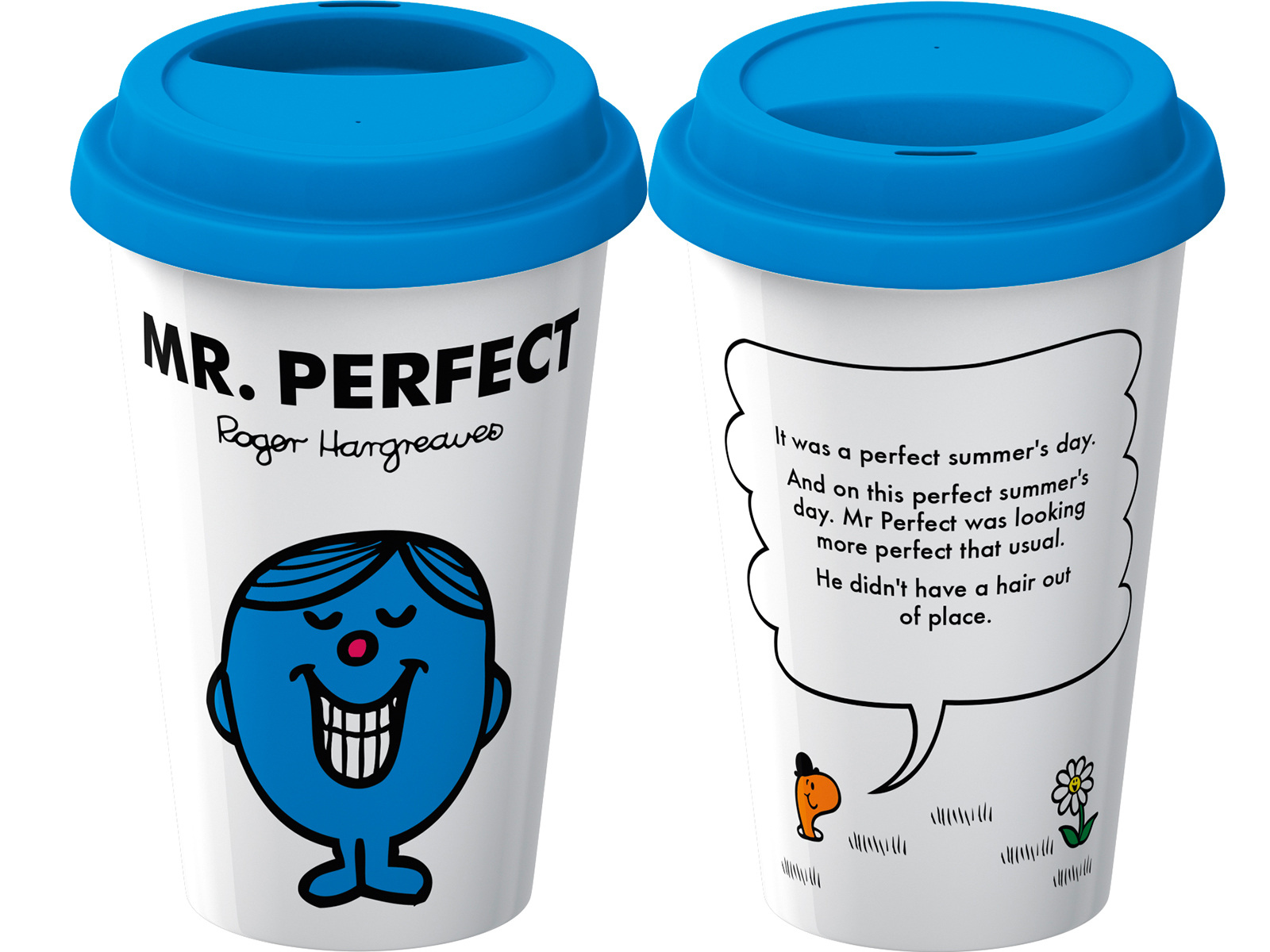 Mr Men Mr Perfect Travel Mug