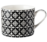 Victoria and Albert Fleur de Lys Encaustic Tile Mug