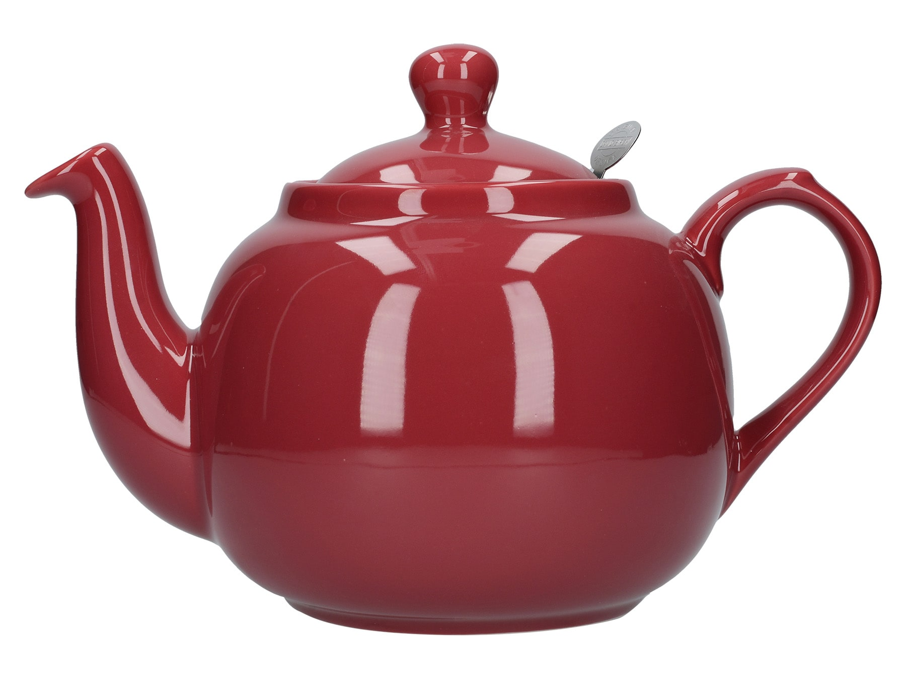 London Pottery Farmhouse 6 Cup Teapot Red
