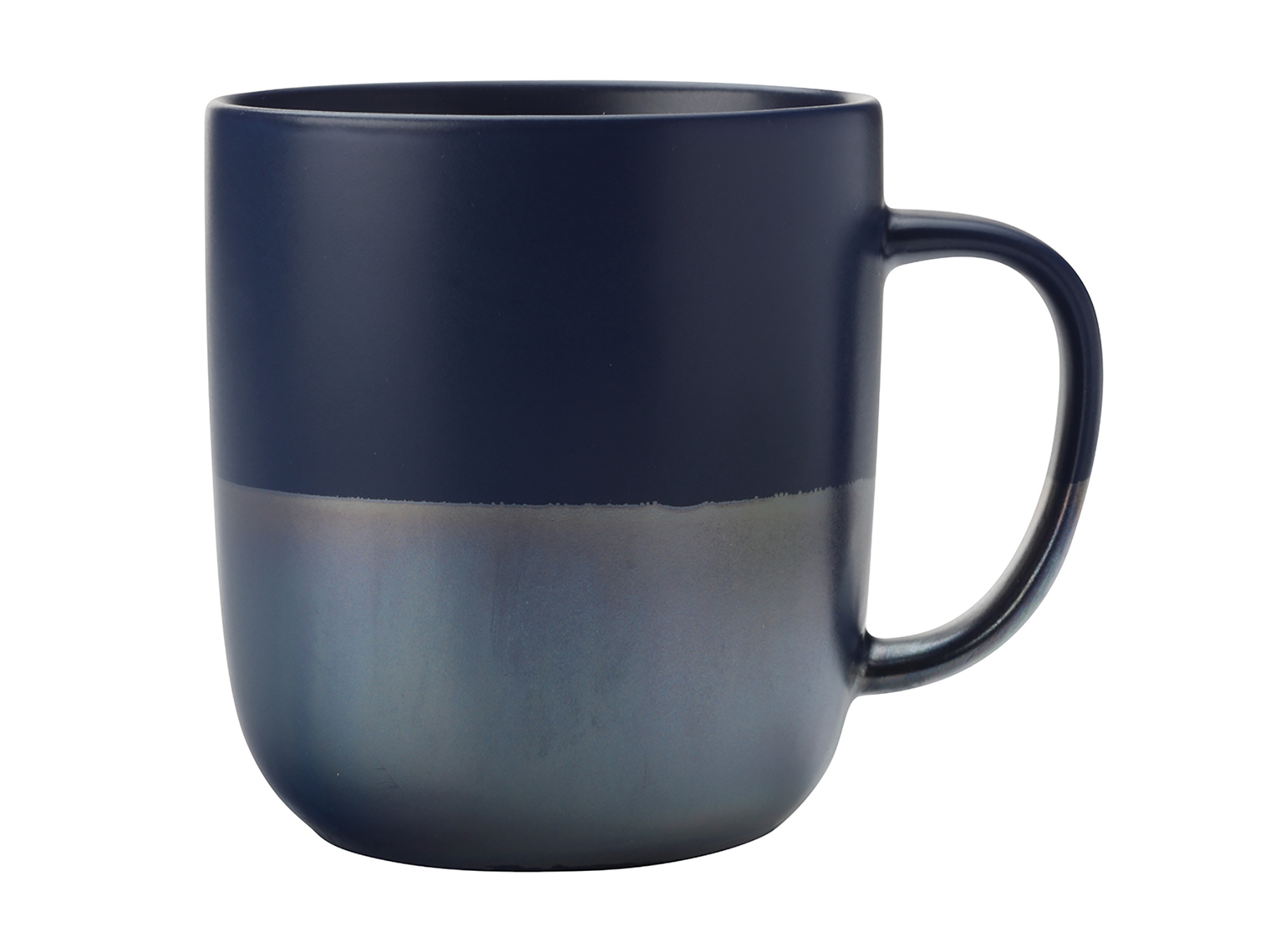 Maxwell & Williams Lune 400Ml Mug Navy Lustre