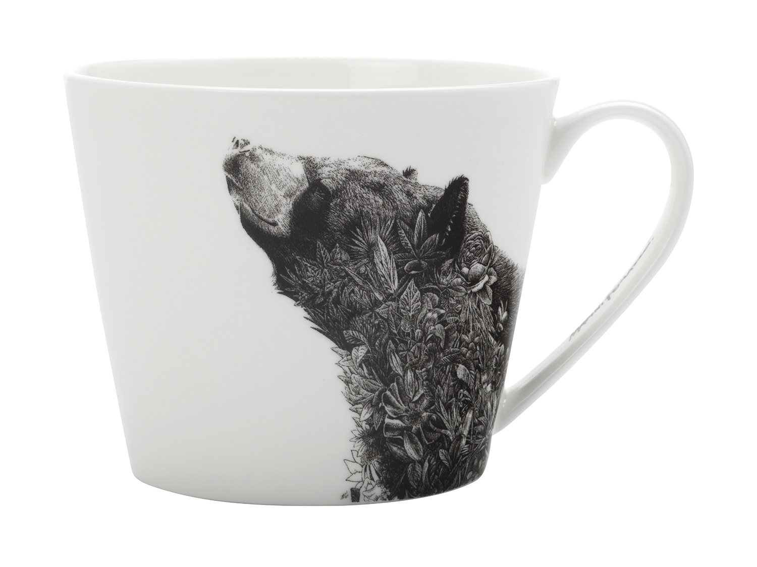 Maxwell & Williams Marini Ferlazzo Black Bear 450Ml Mug