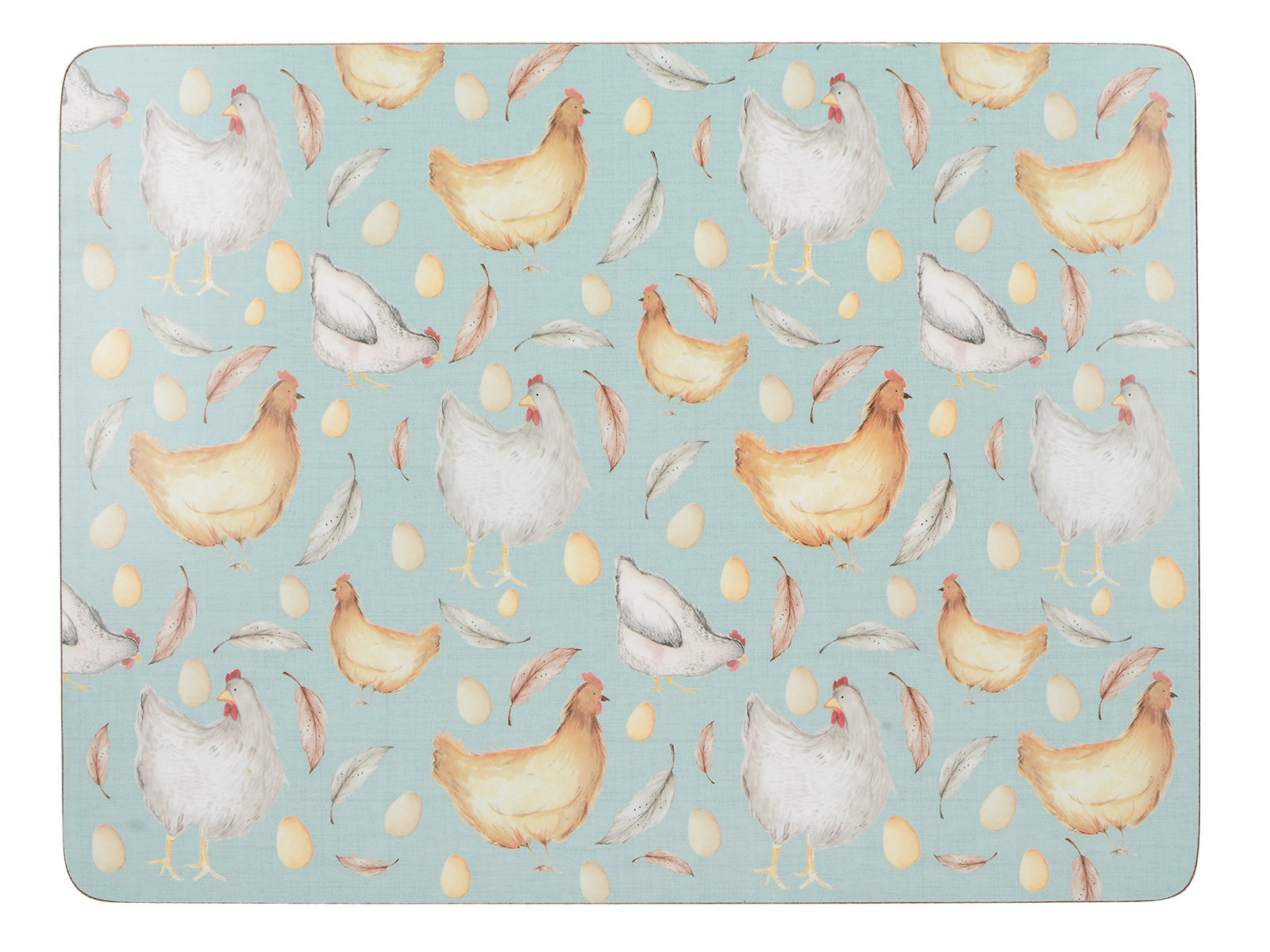 Creative Tops Feather Lane Pack Of 6 Premium Placemats