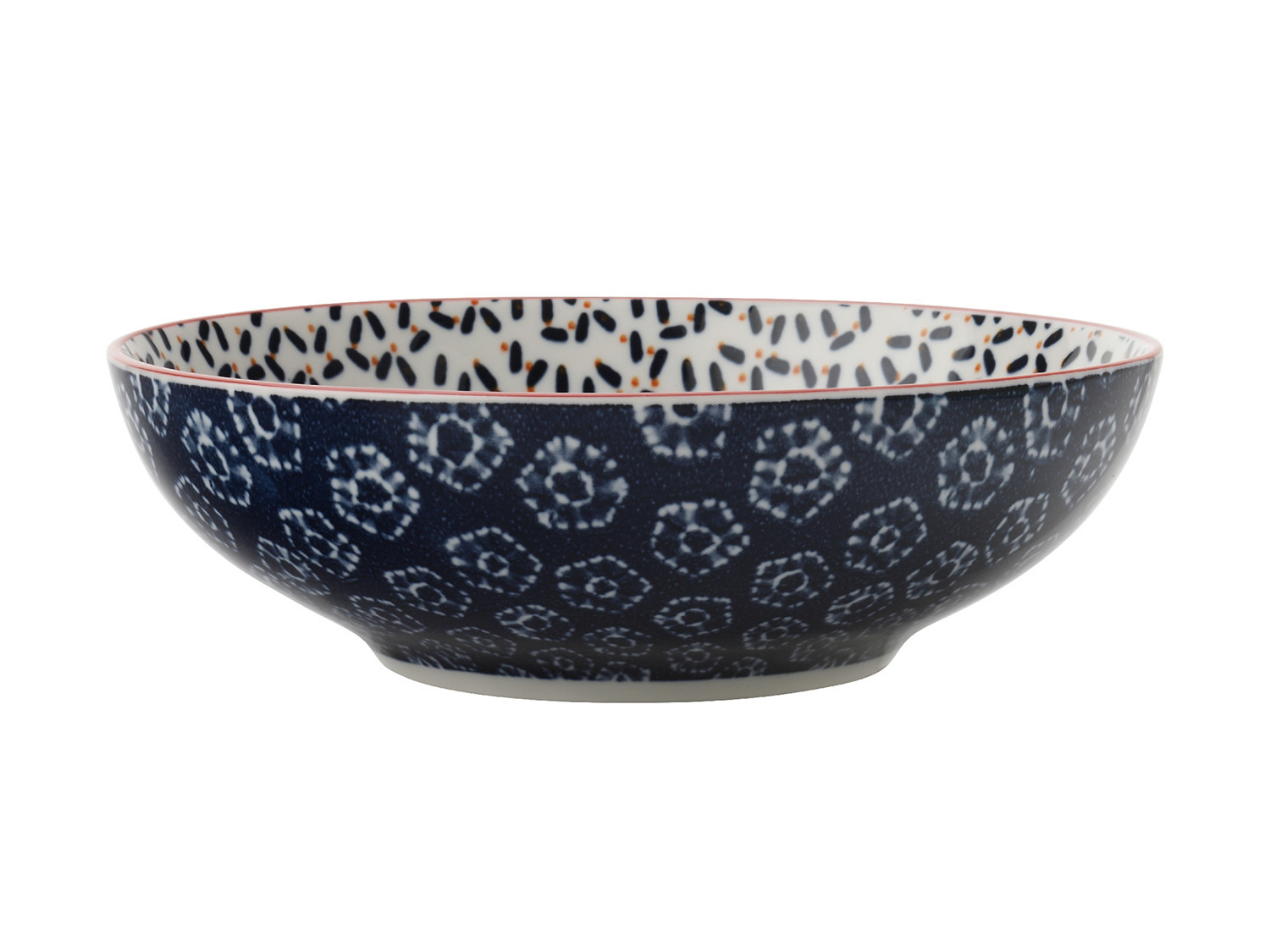 Maxwell & Williams Boho 18Cm Coupe Bowl Kiraku Blue