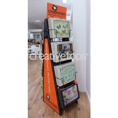 Creative Tops Side Pannels And Header Card For Fsu12 Work Surface Protector Set