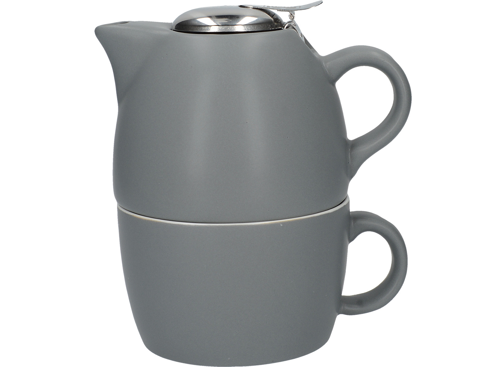 La Cafetiere Barcelona Tea For One Cool Grey