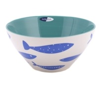 M By Mikasa Into The Blue Serve Bowl