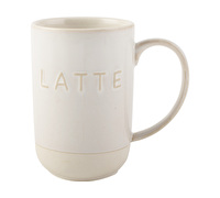 La Cafetiere Origins Embossed Latte Mug