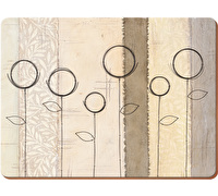 Creative Tops Natural Simplicity Pack Of 4 Large Premium Placemats