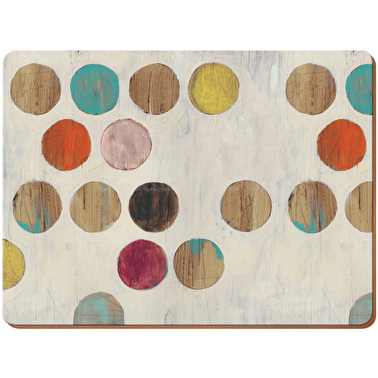 Creative Tops Retro Spot Pack Of 4 Large Premium Placemats