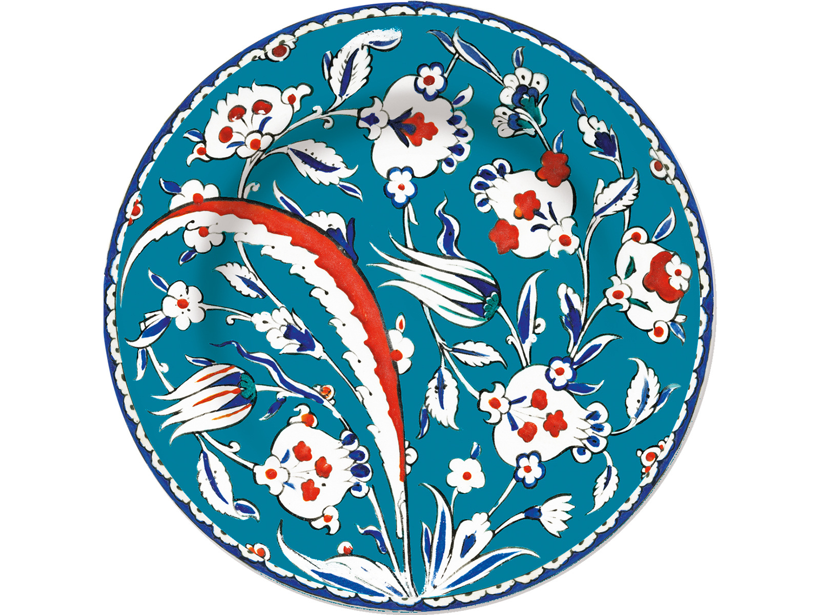 Victoria and Albert Iznik Pomegranate Side Plate