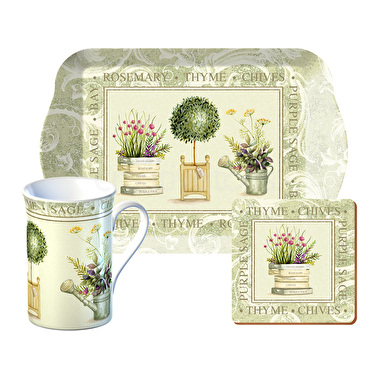 Creative Tops Topiary Time For Tea Gift Set