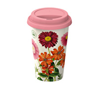 Kew Gardens Painted Daisy Travel Mug