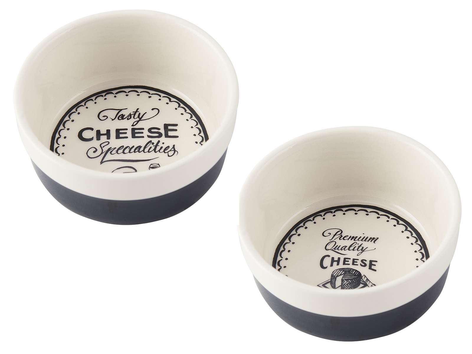 Creative Tops Gourmet Cheese Set Of 2 Ramekins