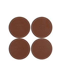 Photo of Creative Tops Earlstree & Co Pack Of 4 Faux Leather Coasters