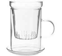 Randwyck Scandia Glass 3 Piece Tea Filter Cup