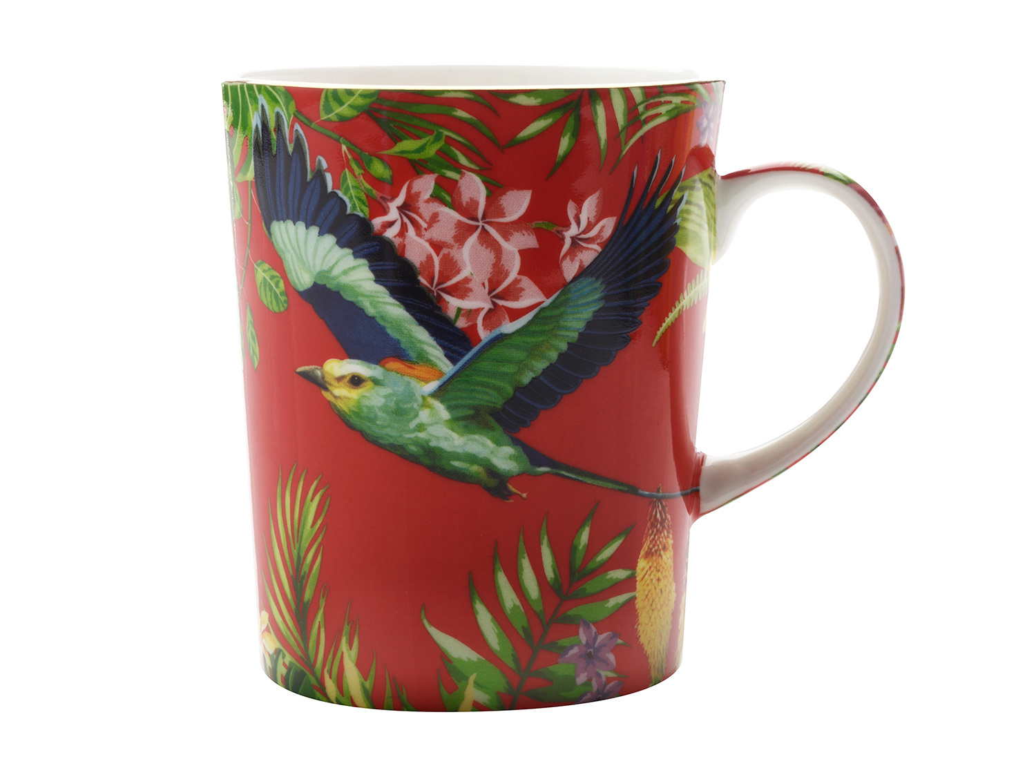 Maxwell & Williams Cashmere Birds Of Paradise Mug Red