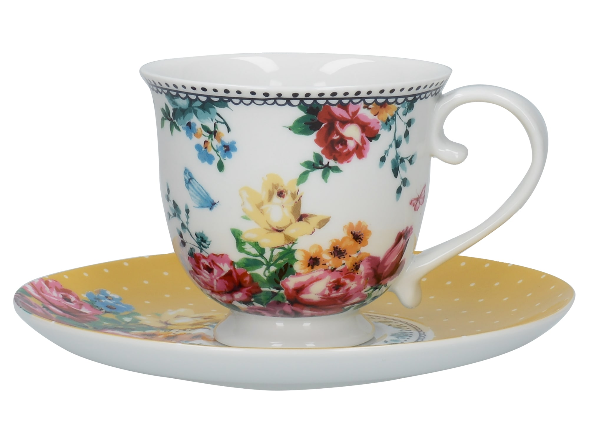 Katie Alice Bohemian Spirit Teacup And Saucer