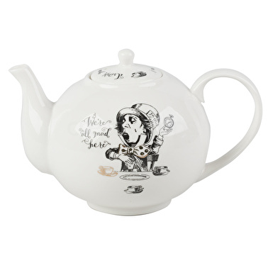 Victoria And Albert Alice In Wonderland Large Teapot