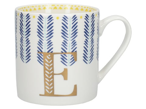 Creative Tops Alphabet Can Mug E