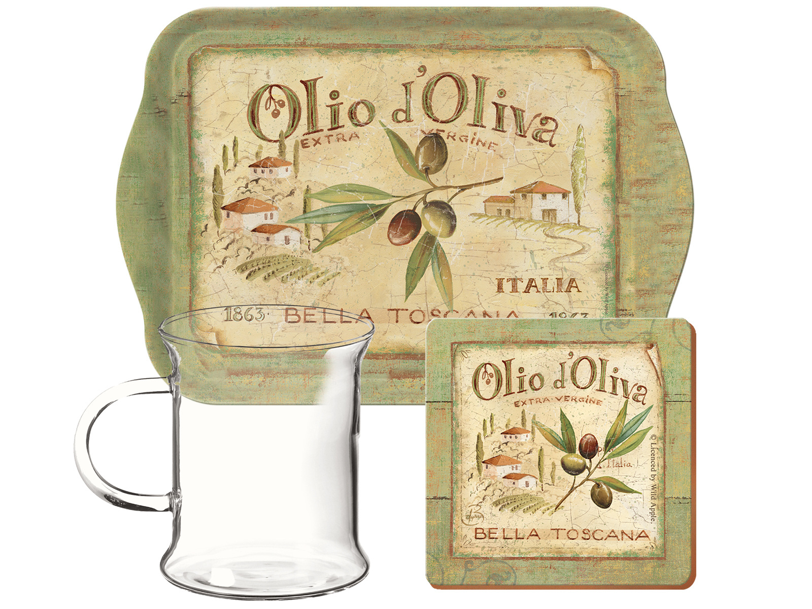 Creative Tops Olio D Oliva Glass Time For Tea