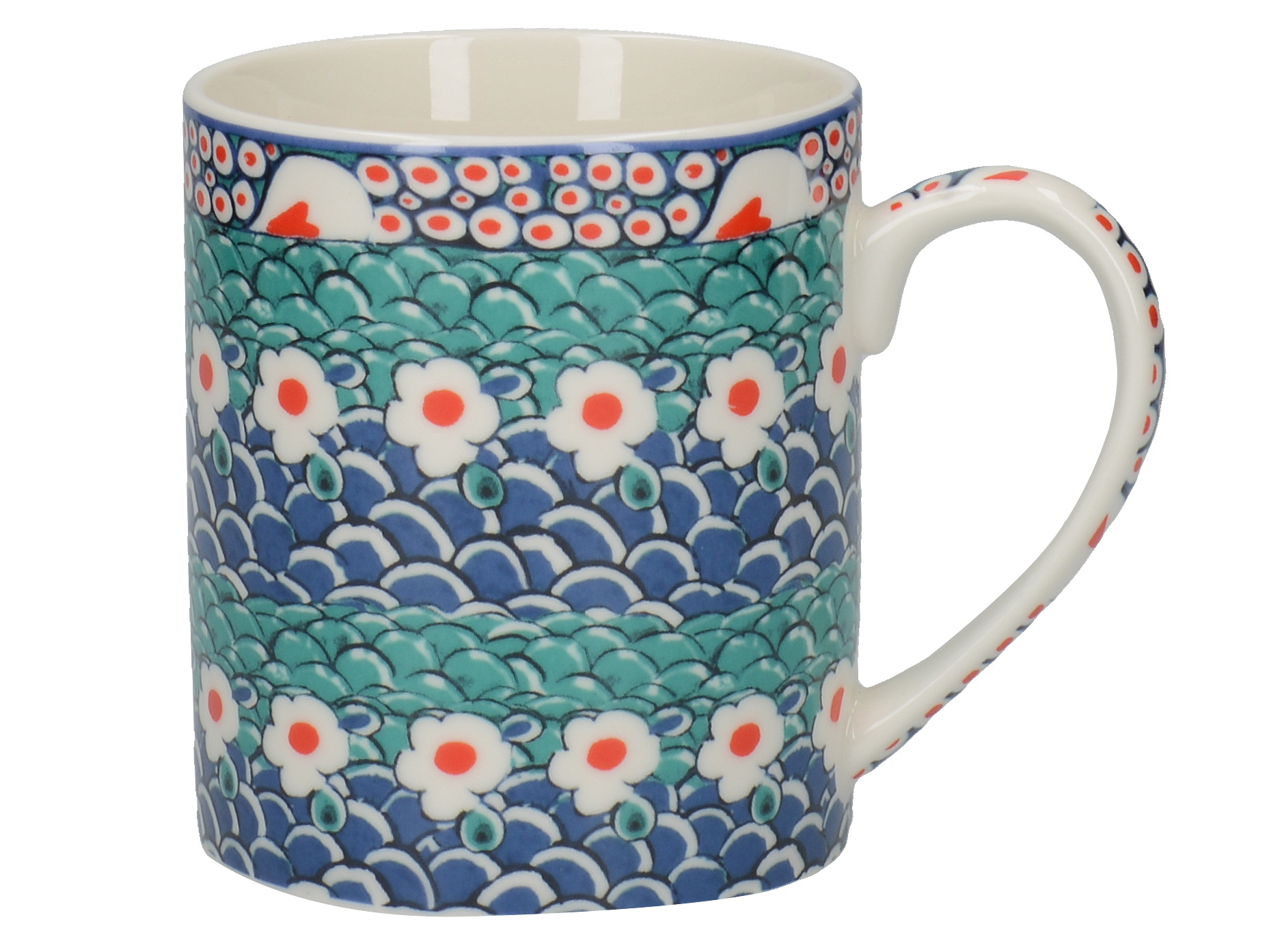 Victoria and Albert Iznik Petal Can Mug