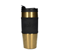 La Cafetiere 450ml Travel Flask Pp Inner Stainless Steel Outer Gold