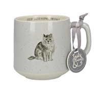 Creative Tops Tails & Treats Stop Stressing Meowt Cat Mug