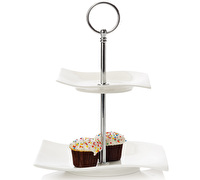 Maxwell & Williams Motion 2 Tier Cake Stand Gift Boxed