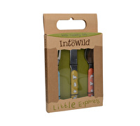 Creative Tops Into The Wild Little Explorer 3Pc Kids Cutlery Set