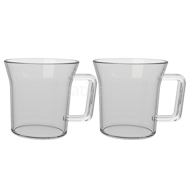 La Cafetiere Matcha Set Of 2 300Ml Single Walled Glasses