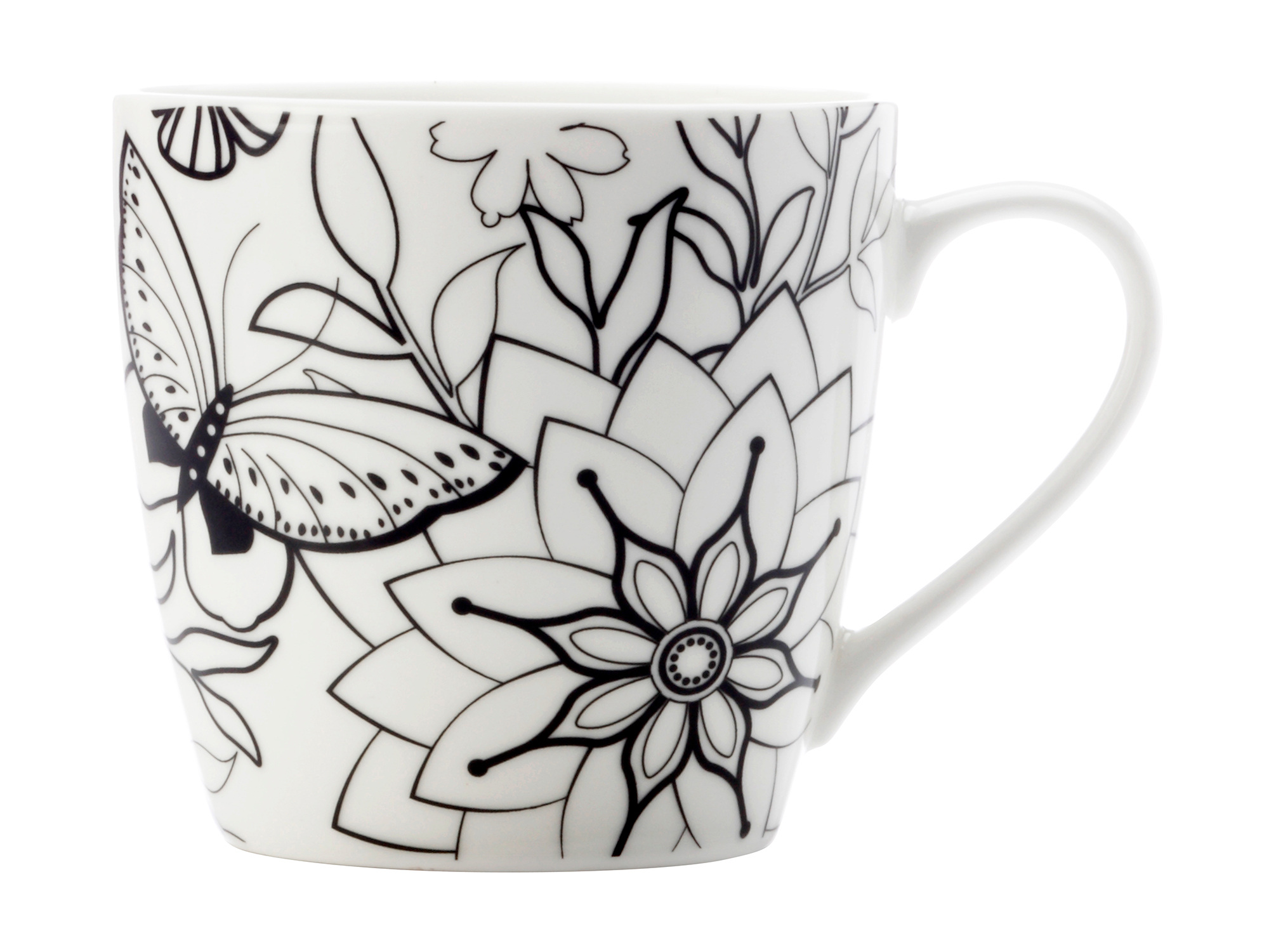 Maxwell & Williams Mindfulness Butterflies 470Ml Mug Gift Boxed