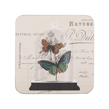 Creative Tops Nature Under Glass Pack Of 4 Premium Coasters