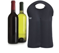 Built Two Bottle Wine Tote Black