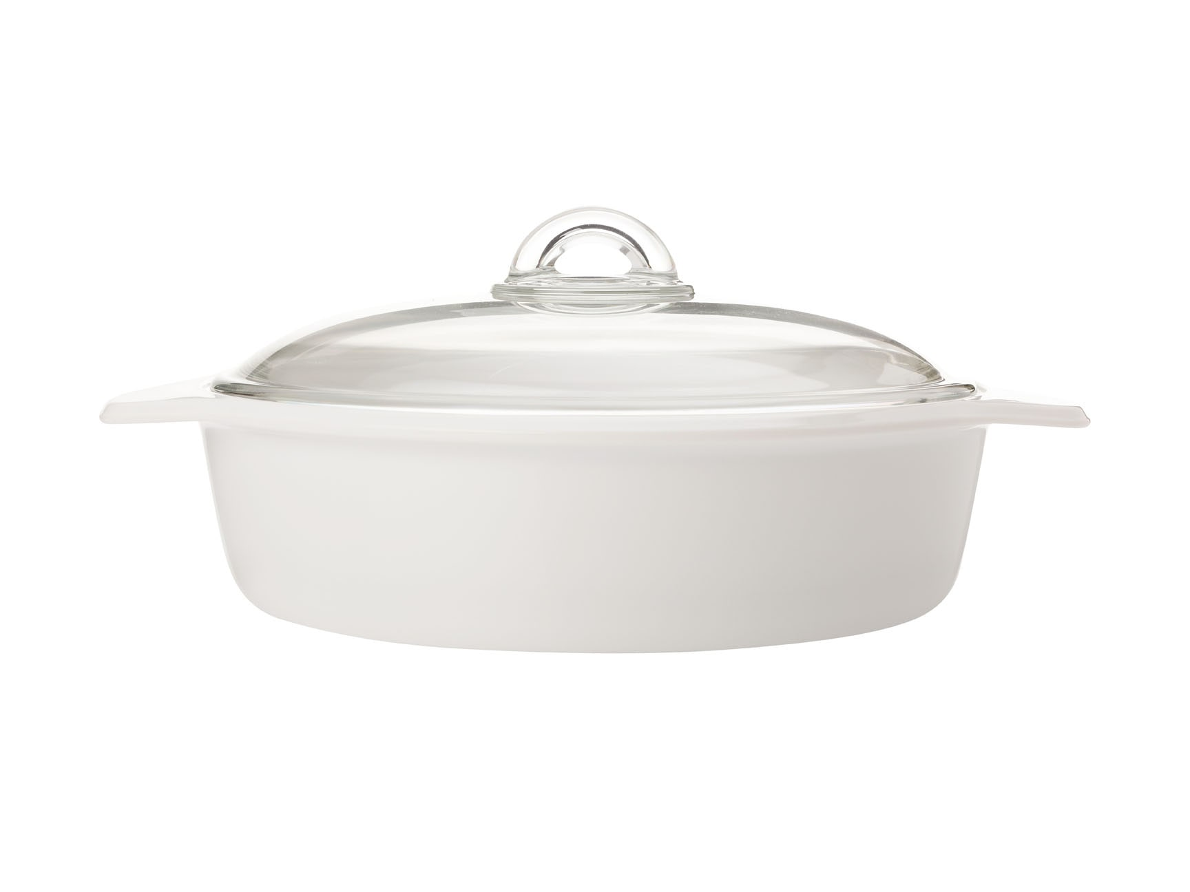 Maxwell & Williams Vitromax 2.5 Litre Round Casserole White
