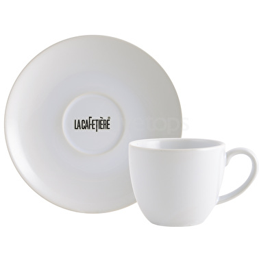 La Cafetiere Decal Range Espresso Cup And Saucer