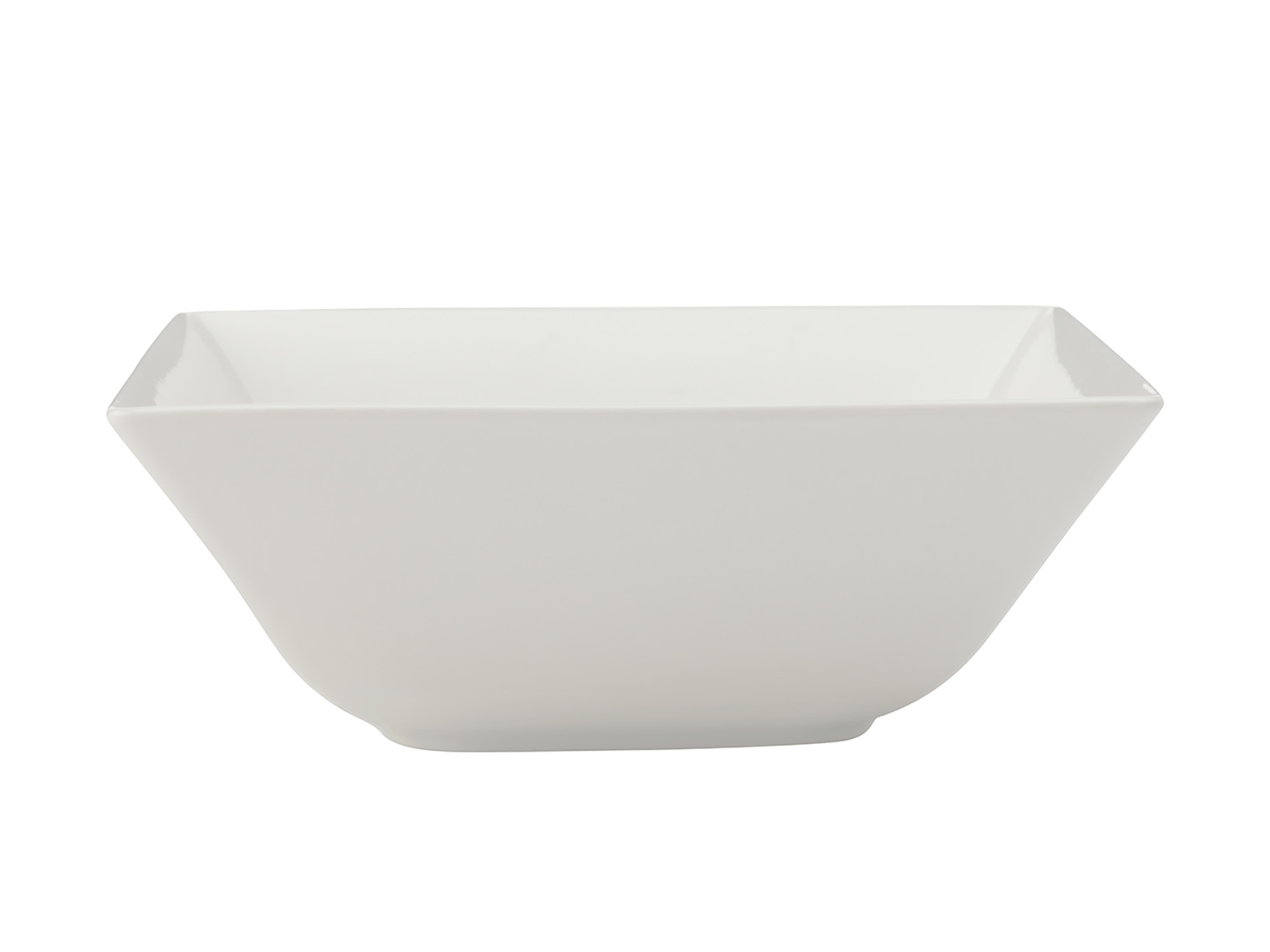 Maxwell & Williams White Basics Linear 18Cm Square Bowl