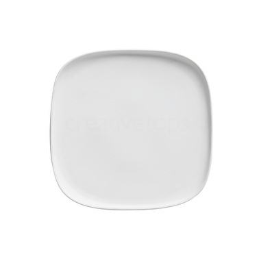 Maxwell & Williams Elemental 25.5Cm Square Platter White