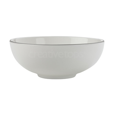 Maxwell & Williams White Basics Edge 18.5Cm Bowl