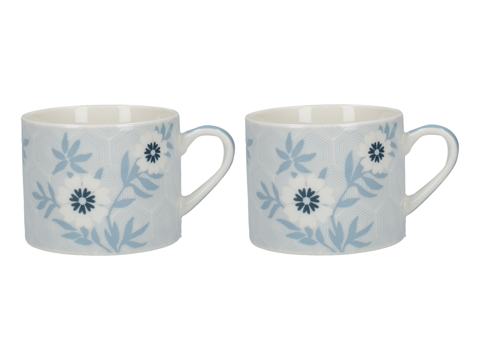 Victoria And Albert Matley Set Of 2 Espresso Mugs