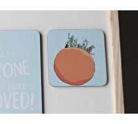 Roald Dahl James And The Giant Peach Single Coaster
