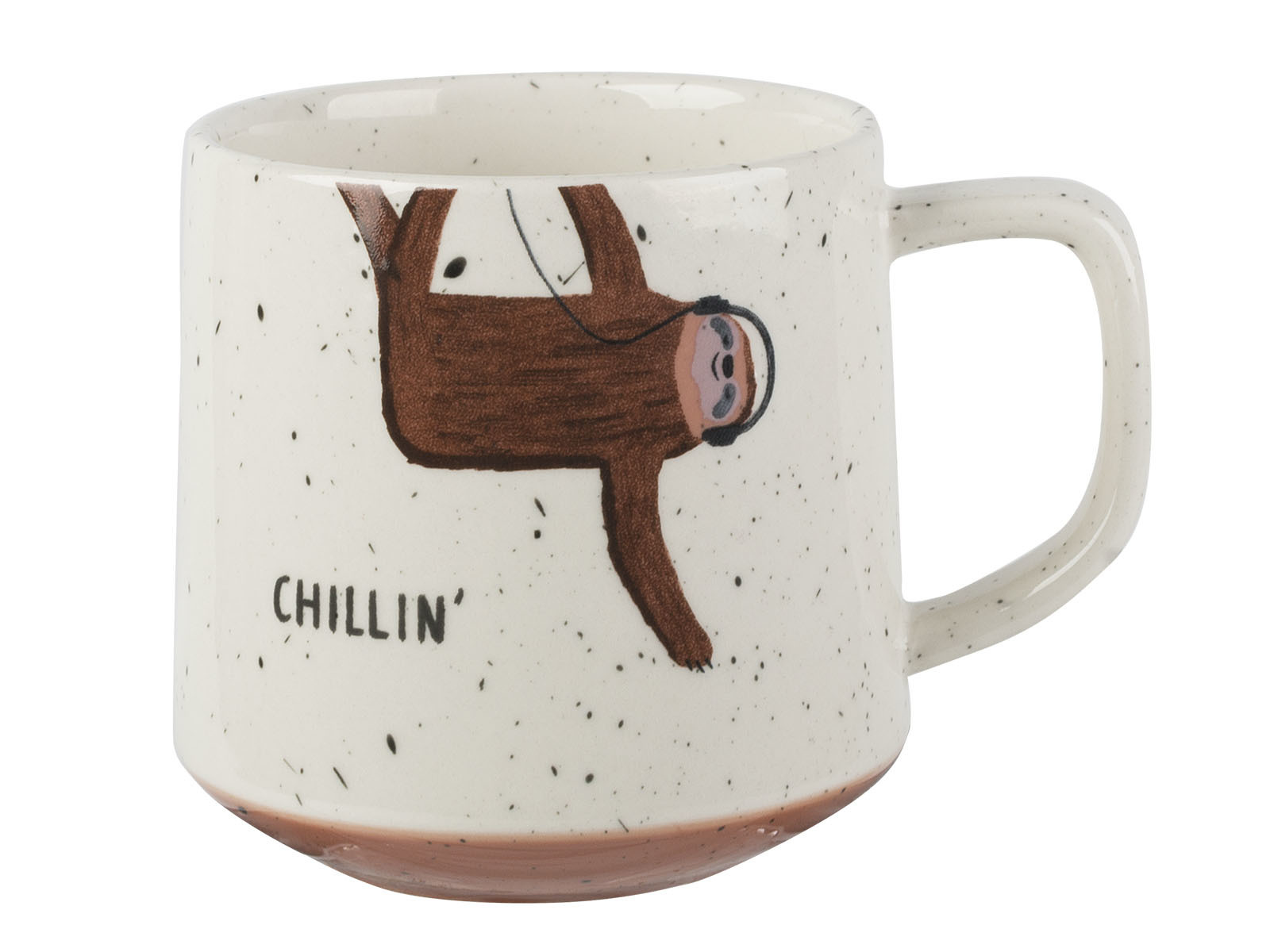 Creative Tops Sloth Loose Mug Speckled Finish
